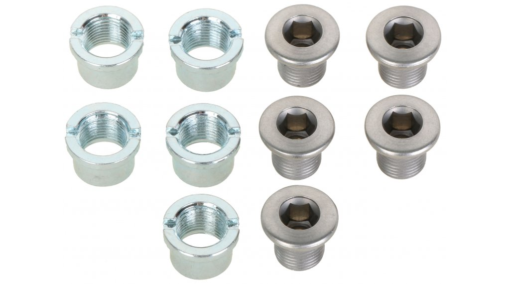Shimano Kettenblattschrauben mit Muttern M8x8.5 FC-3550 (5 Stk)