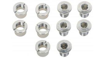 Shimano tornillos de platos con tuercas FC-7410/FC-7700 (5 uds.)