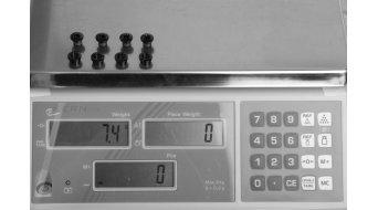 Shimano kettingbladschroefbout met moer/en FC-M785 (4 stuks)