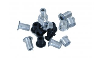 Tune aluminium vis de plateau set pour 2-vitesses noir (10-teilig) (pas pour Campa Torque-manivellen)