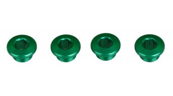 Tune XX1 tornillos de platos juego verde cardenillo (en 4 piezas)