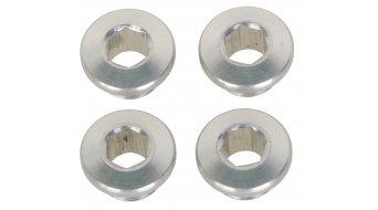 Tune XX1 tornillos de platos juego color plata (en 4 piezas)