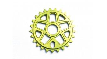 MVTE Skim Kettenblatt 25 Zähne gelb (inkl. 19 & 22mm-Adapter)