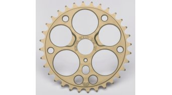 Renthal BMX corona catena 3/32 27 denti oro