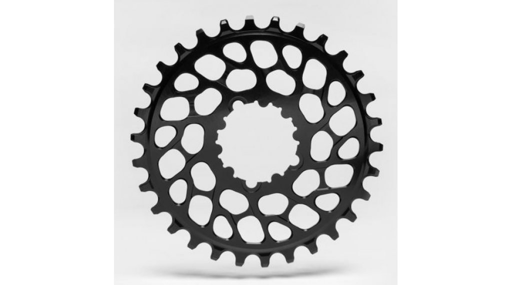 Absolute Black Chainring Round Direct Mount BB30 34T Short Spindle