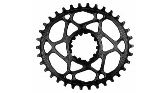 absolute Black SRAM N/W Direct Mount ovales Kettenblatt Boost148 (GXP/BB30) 34 Zähne black