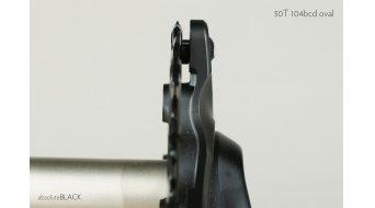 absolute Black XX1 ovales Kettenblatt 4-Loch (104mm) 30 Zähne black