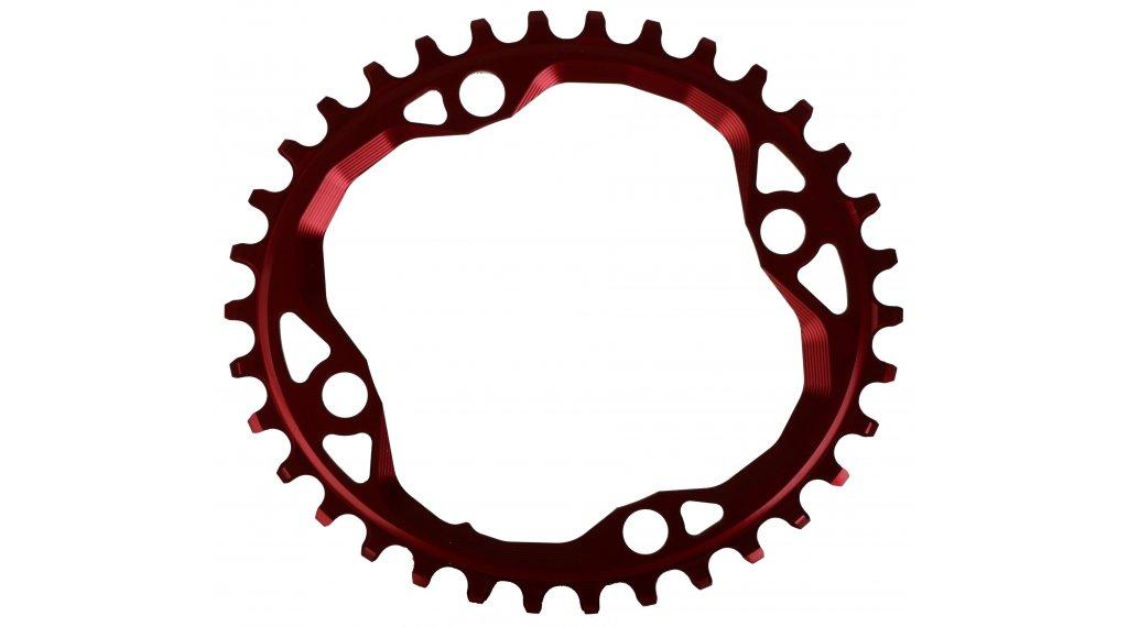 absolute Black XX1 ovales Kettenblatt 4-Loch (104mm) 34 Zähne red