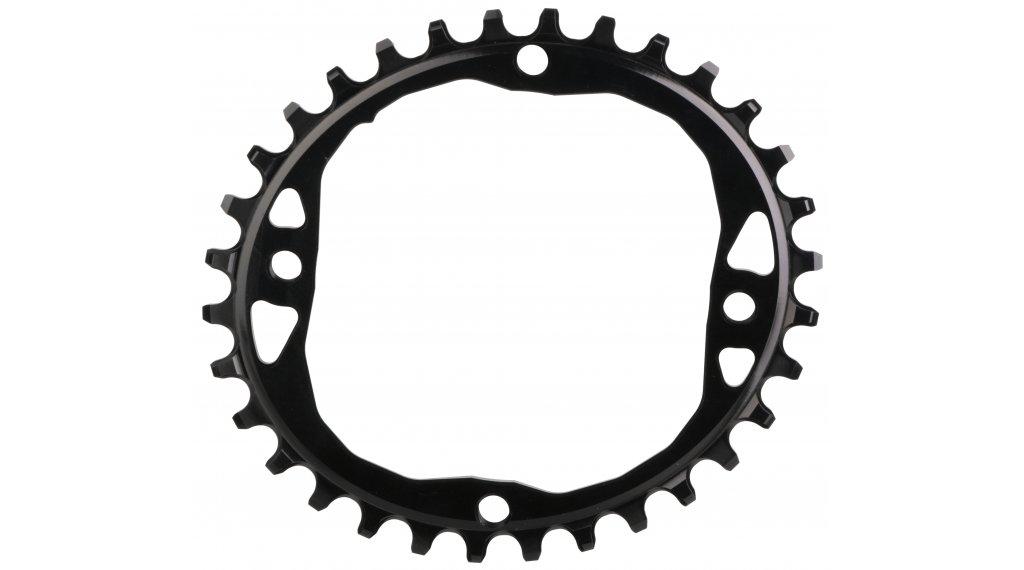 absolute Black XX1 ovales Kettenblatt 4-Loch (104mm) 34 Zähne black