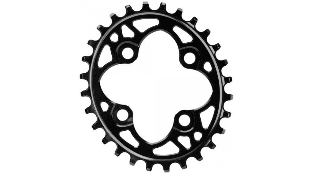 absolute Black XX1 ovales Kettenblatt 4-Loch (64mm) 28 Zähne black