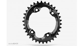 absolute Black N/W ovales chain ring 4 hole (96mm) for Shimano XT M8000 crank