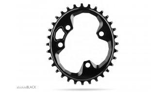 absolute Black ROTOR N/W 椭圆的 牙盘 4 孔 (76mm) 30 齿 黑色