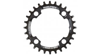 Blackspire Snaggletooth Narrow Wide chain ring 4 hole 88mm black (XTR FC-M985 compatible )
