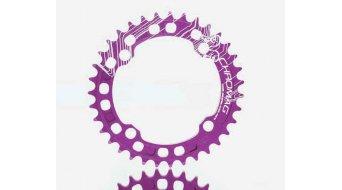 Chromag Clocker Kettenblatt 36 Zähne (104mm) purple