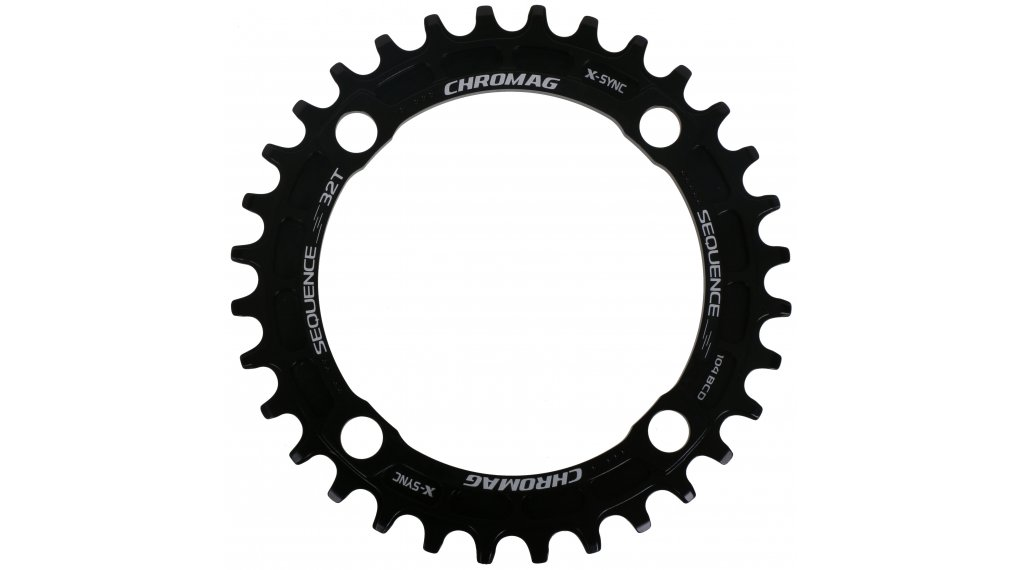 Chromag Sequence Kettenblatt 30 Zähne (104mm) black