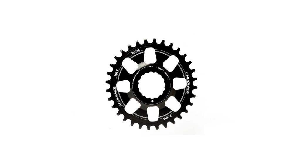 Chromag Sequence Kettenblatt 28 Zähne für RaceFace Cinch black