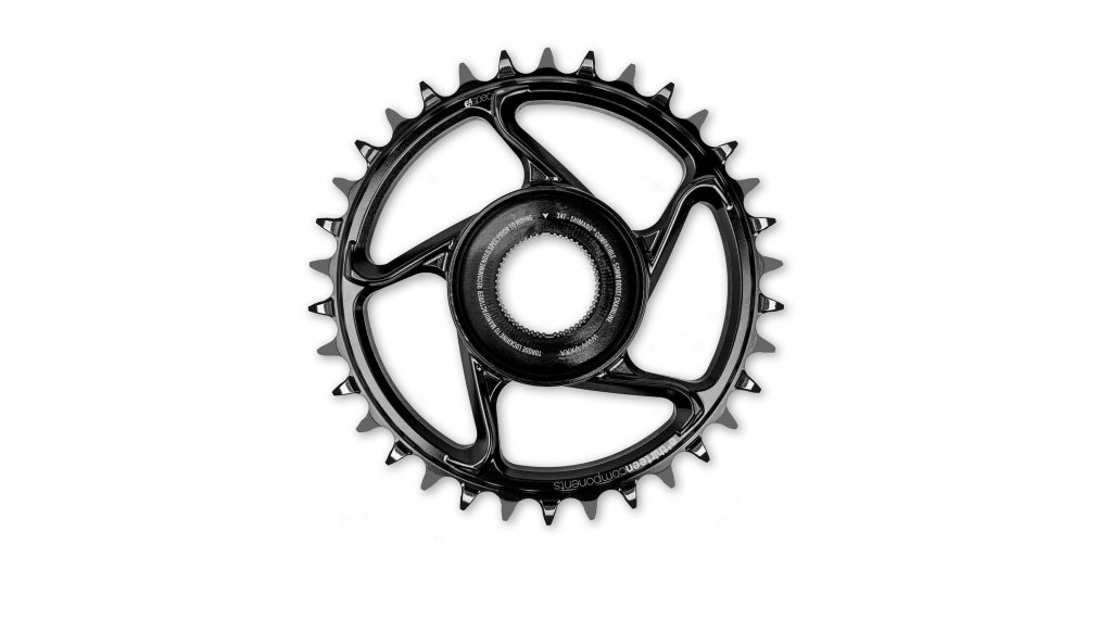e*thirteen e*spec Kettenblatt Direct Mount 38 Zähne Shimano E8000 black