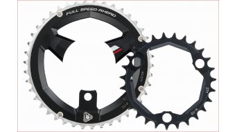 FSA K-Force 386 corona catena 3- braccio (86mm) nero (Shimano M-10/Sram X-10 compatibile )