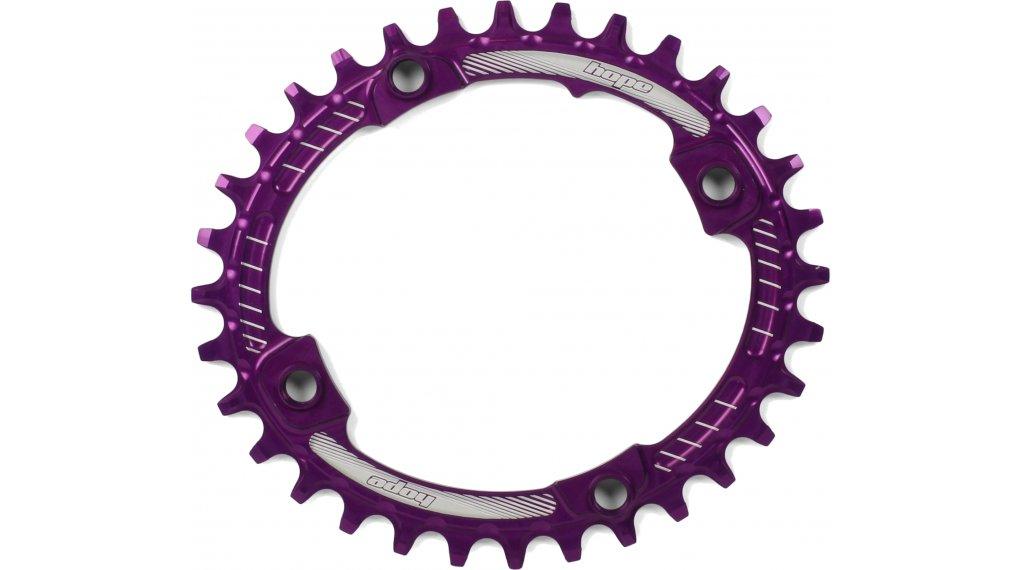 Hope Oval Retainer Narrow Wide Kettenblatt 32 Zähne 4-Loch (104mm) purple