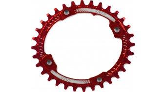 Hope Oval Retainer Narrow Wide Kettenblatt 32 Zähne 4-Loch (104mm) red