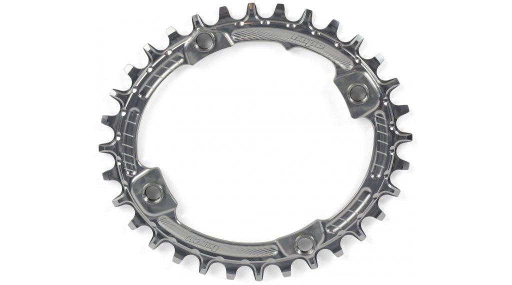 Hope Oval Retainer Narrow Wide Kettenblatt 34 Zähne 4-Loch (104mm) silver