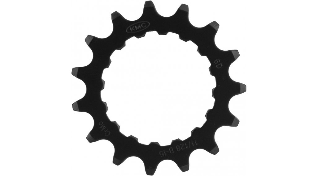 "KMC Kettenblatt 1/2x11/128"" 15 Zähne Bosch Gen2 black"