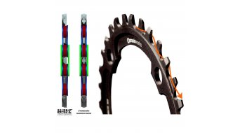 Praxis Works Wave MTB Boost Kettenblatt 10-/11-/12-fach 30 Zähne Direct Mount