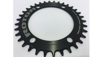 ROTOR R-Ring MTB Kettenblatt INSpider 1fach 4x110 schwarz