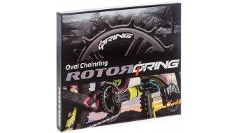 ROTOR Q-Ring QX1 MTB Direct Mount Kettenblatt Sram Boost 1fach 30T 3mm Offset schwarz