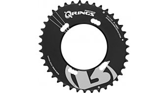 rotor Q-ring QX2 MTB chain ring Shimano 2 speed black