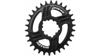 ROTOR Q-Ring Direct Mount Kettenblatt schwarz für ROTOR REX Direktmontage