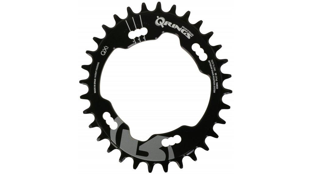 ROTOR Q-Ring QX1 MTB Kettenblatt Shimano 1fach 4x96 36T schwarz