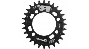 ROTOR Q-Ring MTB QX1 1 velocità corona catena 4 fori (76mm) nero