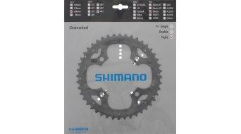 Shimano Deore 9 velocità corona catena 44 denti argento FC-M590/591