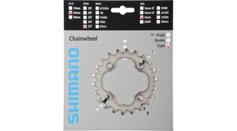 Shimano Deore 9-speed chain ring silver FC-M590/591/532