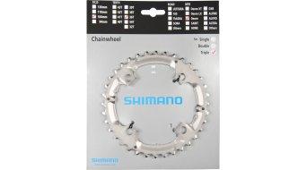Shimano Deore 9-velocidades plato 36 Zähne color plata FC-M590/591/532