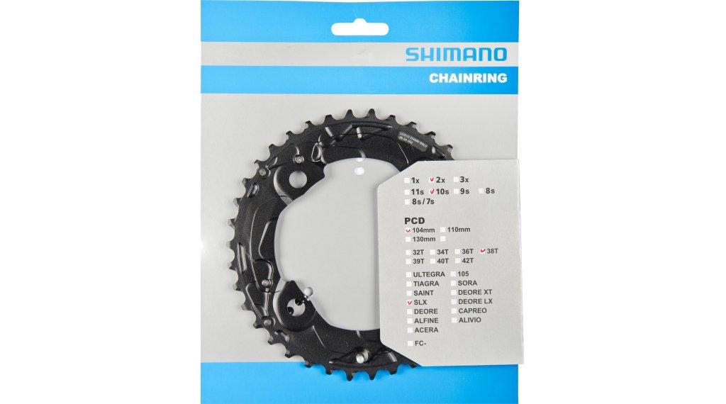 Shimano SLX FC-M675 2x10 Kettenblatt 4-arm 104 LK 38 Zähne AM schwarz