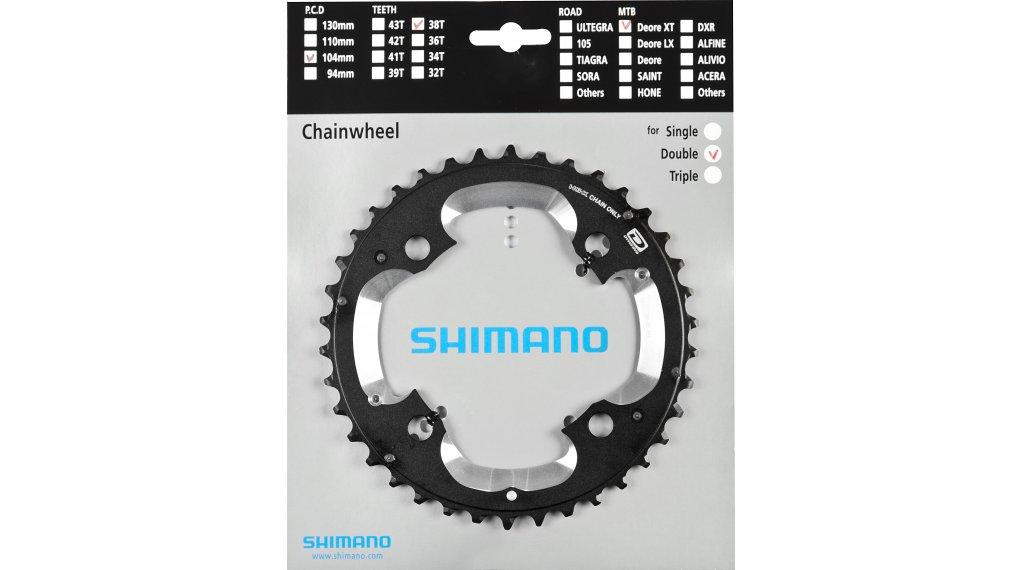 Shimano XT Dyna-Sys 10-fach Kettenblatt 38 Zähne (38/26T) (AK) FC-M785