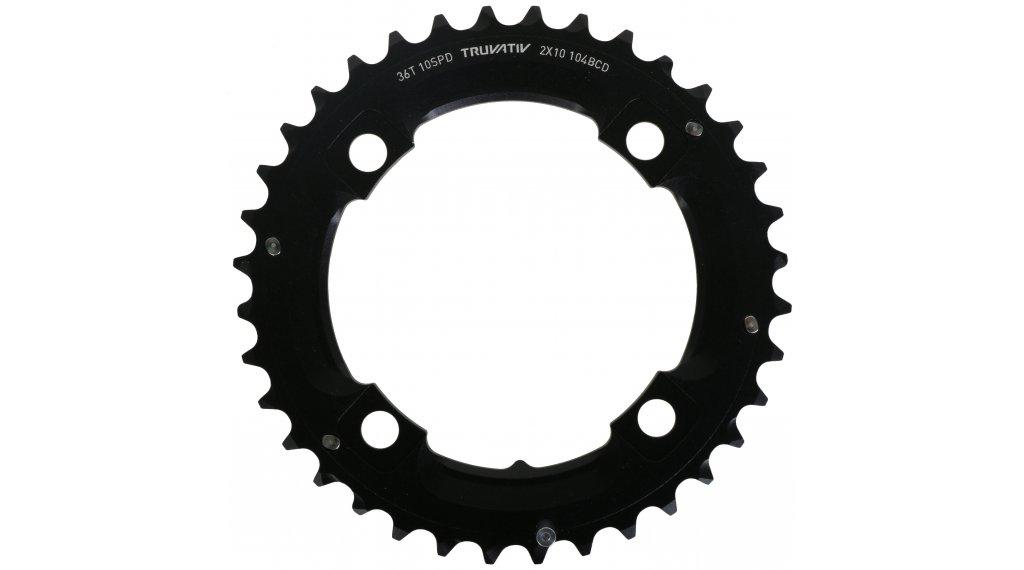SRAM MTB plato 36 dientes (104mm) L-Pin negro 10 Speed (2x10-velocidades)