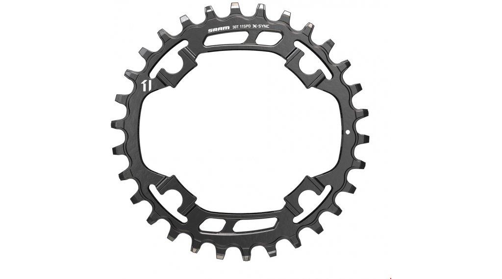 SRAM X-Sync Steel corona catena 11 velocità 30 Zähne (94mm) nero