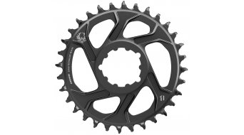 SRAM X-Sync2 Eagle ST Kettenblatt 11/12-fach 32 Zähne Direct Mount 3mm Offset Boost Steel black (Abb. ähnlich))