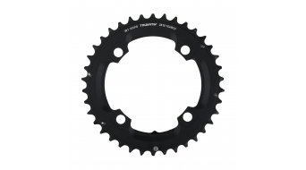 SRAM MTB plato 38 Zähne (104mm) L-Pin 10-Speed (2x10-velocidades) color negro apagado