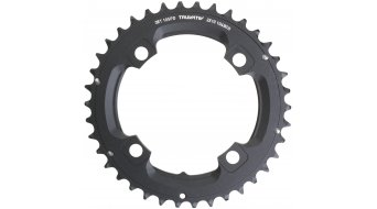 SRAM MTB plato 38 Zähne (104mm) No-Pin 10-Speed (2x10-velocidades) color negro apagado