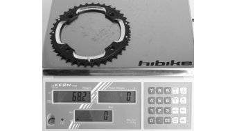 SRAM MTB plato 39 dientes S2 (120mm) AL6 blast negro S-Pin BB30 CNC (2x10-velocidades)