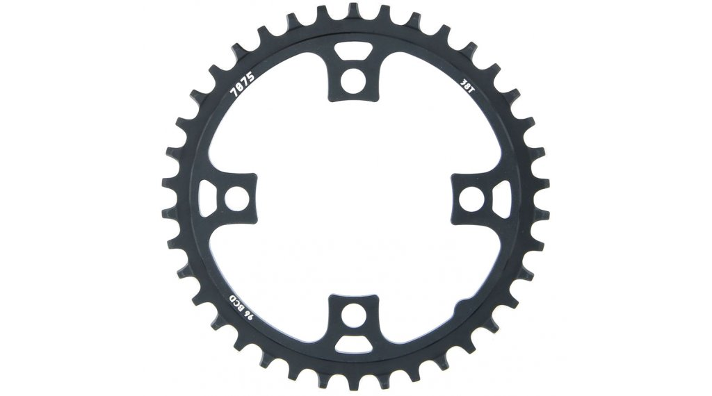 Sunrace MX 4-Arm Kettenblatt 96mm 38 Zähne