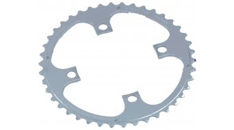 Specialites T.A. Chinook/23mm XT/LX/Deore 8/9-speed chain ring outer 42 teeth 4- Arm (104mm) silver