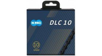 KMC DLC10 Kette 10-fach 116-Glieder black/black