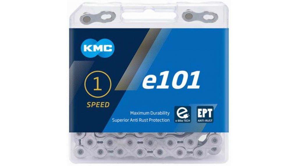 KMC e101 Kette 1-fach 112-Glieder EPT silver