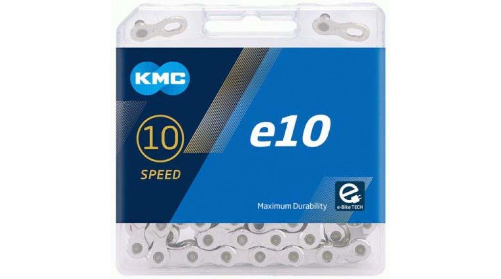 KMC e10 链条 10速 122节 silver