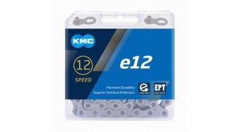 KMC e12 Kette 12-fach 130-Glieder EPT silver